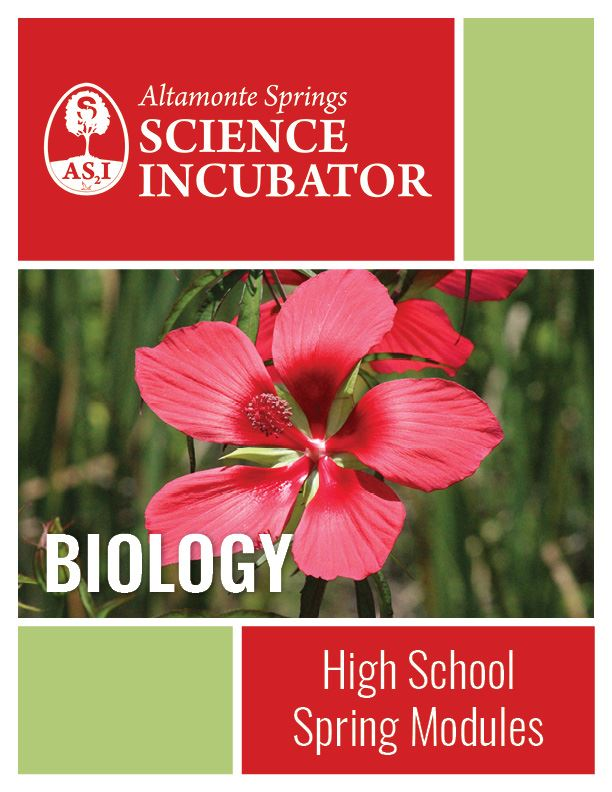 Altamonte Springs Science Incubator High School Biology Workbook