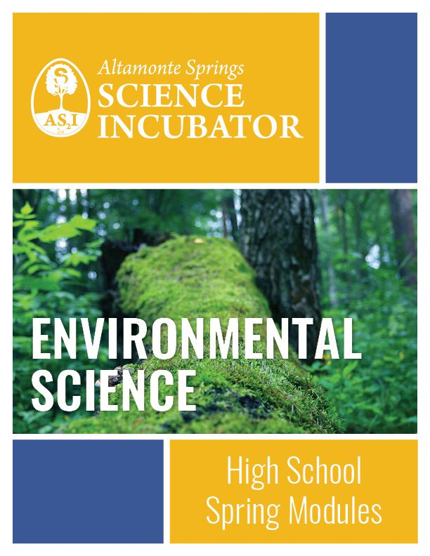 Altamonte Springs Science Incubator High School Spring Environmental Science Workbook